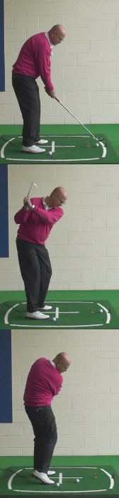 Look At The Club Face And Sole For Clues To Swing Problems, Senior Golf Tip