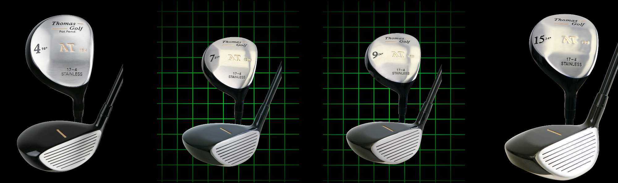 Thomas Golf Fairway Woods Chart with what Fairway Wood Replaces and is Equivalent to our Standard Irons