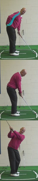 Why Correct Spine Angle Improves Your Swing Plane, Senior Golf Tip