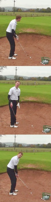 Why Do Golf Pros Bury Their Feet In The Bunker