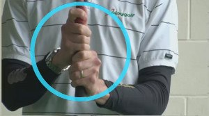 baseball grip term