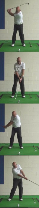 A Sweeping Swing Or Take A Divot What Is The Correct Swing For A Senior Golfer To Use