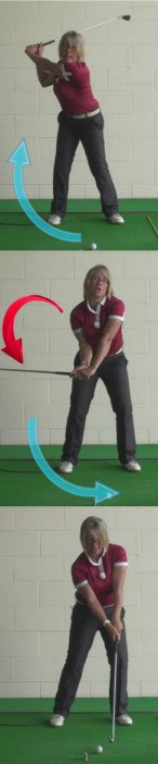Best 3 Ways To Cure Topping The Golf Ball, Ladies Golf Tip