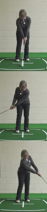 Chip-And-Run For Consistent Shots Around the Green, Ladies Golf Tip
