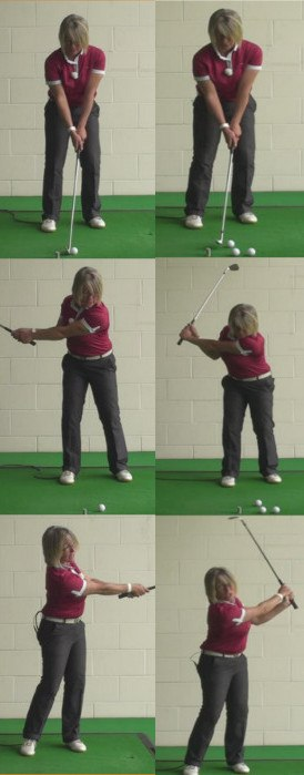 Chip Vs Pitch How And Why, Ladies Golf Tip