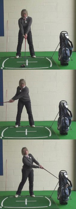 Cure For Drives Are Going Too Low – Ladies Golf Tip