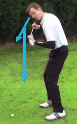 Down Hill Lie Golf Term
