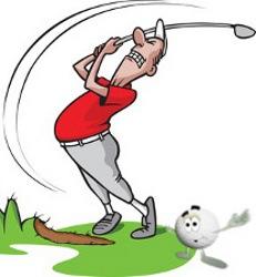 Duff Golf Term