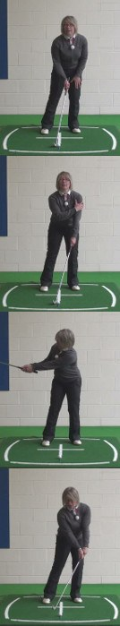 How Best To Play In Wind, Ladies Golf Tip