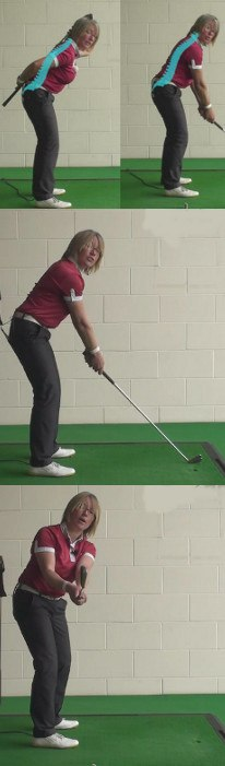 How Spine Angle Influences Swing Plane, Women's Golf Tip