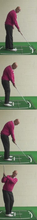 How The Target Helps Determine Alignment, Trajectory And Shot Shape When Senior Golfers Are Out On The Golf Course