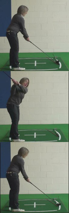 How To Hit Power Fade For Distance With Control – Ladies Golf Driver Tip