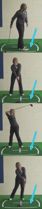 Ladies Two-Tee Golf Drill For Added Driver Distance