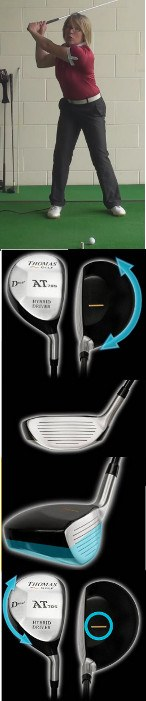 Ladies Versatile Hybrid Golf Clubs Best For Forgiveness