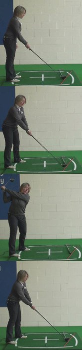 Learn To Hit A Golf Draw With The Driver For Increase Distance, Women's Golf Tip