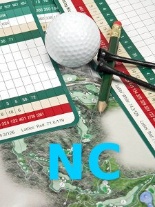 No Card (NC) Golf Term