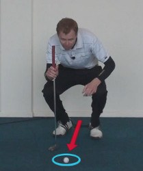 Pre-shot routine Golf Term