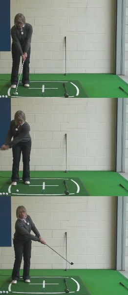Short Game Touch, Ladies Golf Tip