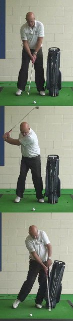 The Best Senior Golfers Swing Tip For How To Rotate Your Body Without Sliding