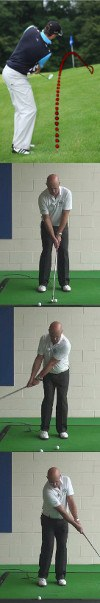 The Correct Set Up And Swing For Senior Golfers To Use When Playing A Bump-And-Run Golf Shot