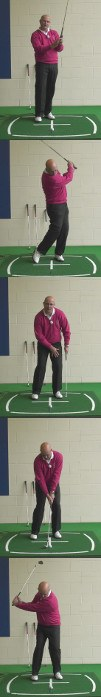 The Correct Set Up And Swing For Senior Golfers To Use When Playing A Greenside Bunker Shot