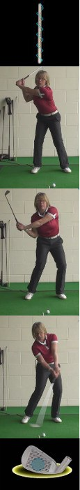 The Cure For Vibration From Off Center Contact, Women Golf Tip