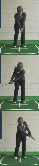 Try Putting Stroke For Improved Chipping, Ladies Golf Tip