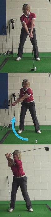 Watch Ladies Pros To Hit Longer Drives, Golf Tip
