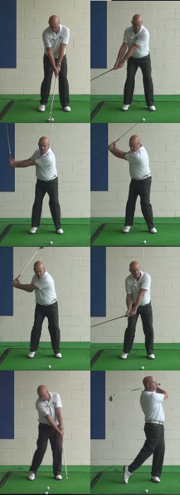 What Is The Correct Right Arm Swing Sequence For A Senior Golfer