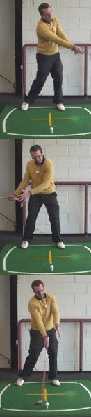 Staying Behind the Ball, Golf Term