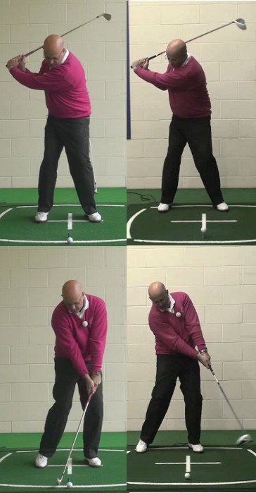 Why Should Senior Golfers Use Different Swings For Driver And Irons, To Achieve Their Best Golf Shots