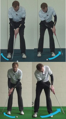 putting stroke A Long Swing, or a Short Pop