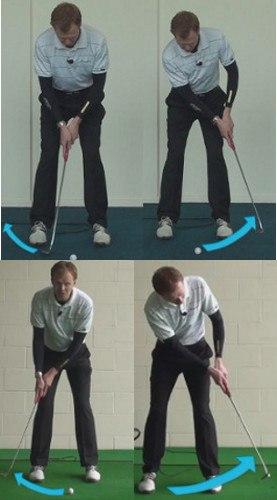 putting stroke A Long Swing, or a Short Pop