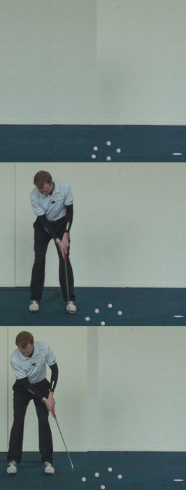 Correct Answer Accelerate the putter through impact