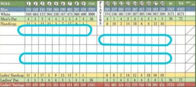 Four-Ball Golf Term A