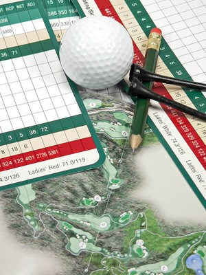 Gross Score Golf Term