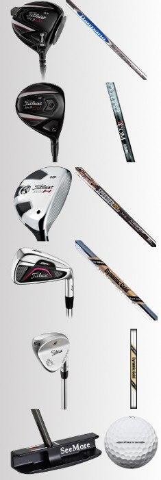 Winning Golf Sticks – 2013 Northwestern Mutual World Challenge