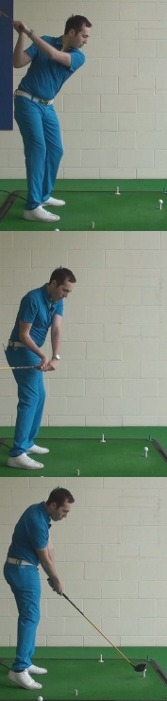 correct answer Close your stance and align the club with the target