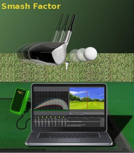 golf lingo Smash Factor