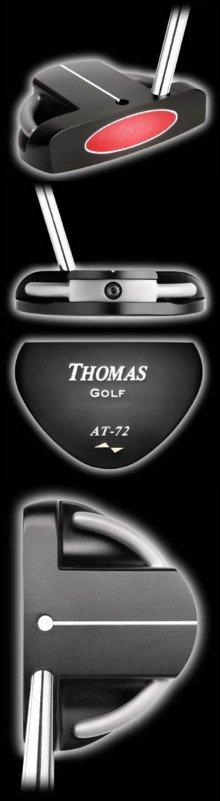 AT72 Thomas Golf Unique Mallet Alignment Putter