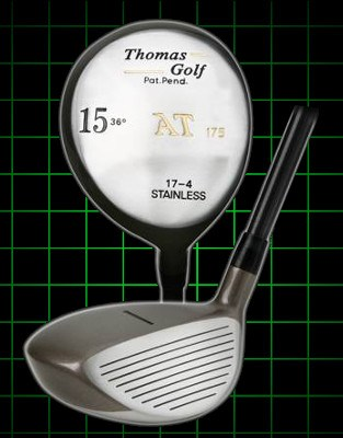 Fairway 15 Wood 36 Degree Loft  by Thomas Golf