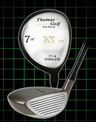 Thomas Golf Fairway Strong 7 Wood 22 degree loft