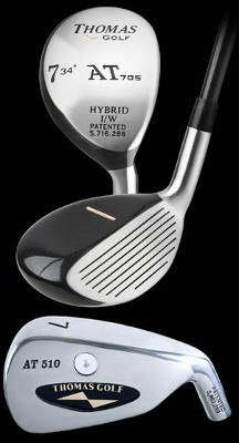 Thomas Golf AT 510 and AT 705 Hybrid Irons Review