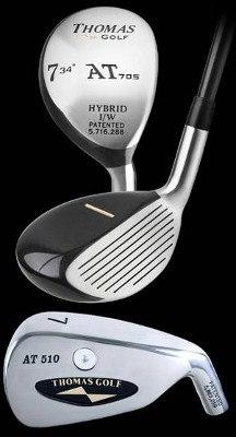 Thomas Golf AT 510 and AT 705 Hybrid Irons Review