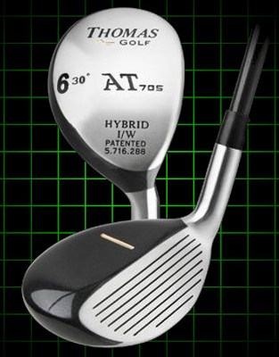 Thomas Golf AT705 6 Hybrid 30 degree loft