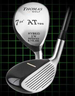 Thomas Golf AT705 Number 7 Hybrid Golf Club 34 degree loft