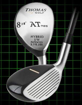 Thomas Golf AT705 Number 8 Hybrid Golf Club 38 degree loft