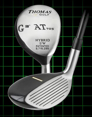 Thomas Golf AT705 Number GW Hybrid Golf Club 50 degree loft