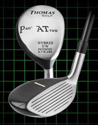 Thomas Golf AT705 Number PW Hybrid Golf Club 46 degree loft