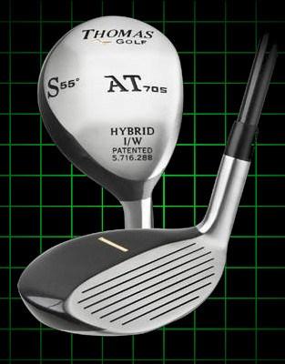 Thomas Golf AT705 Number SW Hybrid Golf Club 55 degree loft